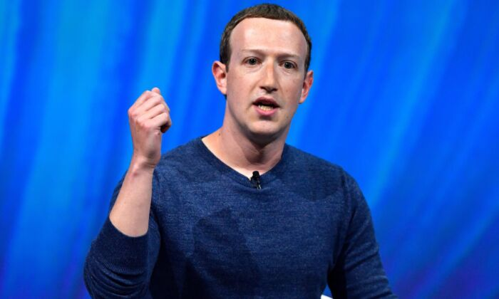 Facebook's CEO Mark Zuckerberg in Paris on May 24, 2018. (Gerard Julien/AFP/Getty Images)