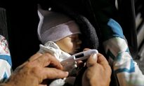 Child of the Storm: Homeless Baby, Family Shelter at Walmart