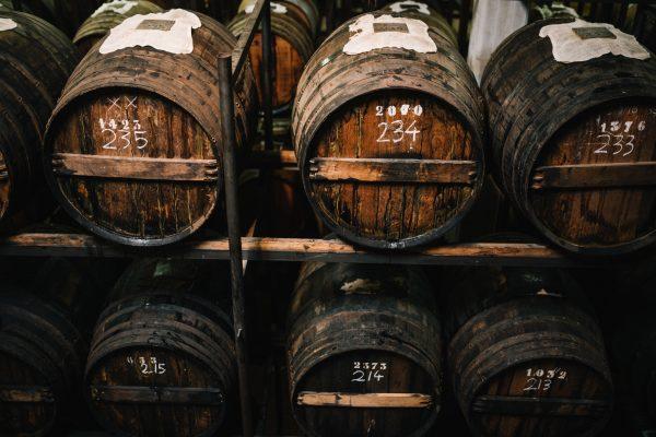Balsamic Vinegar of Modena PGI ages in barrels