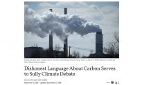Letter to the Editor: The Epoch Times Breaks the Taboo of the Carbon Footprint