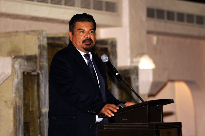 George Lopez attends Fiesta Shalom