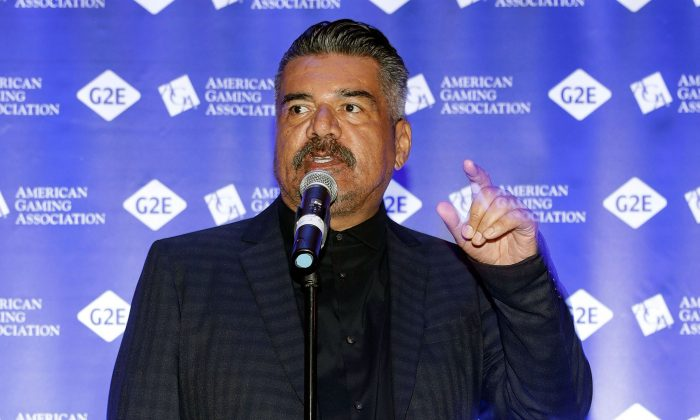 George Lopez attends Global Gaming Expo in Las Vegas, on Oct. 3, 2017. (Photo by Isaac Brekken/Getty Images for Global Gaming Expo)