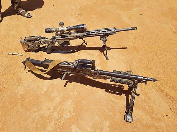 a modern M14 rifle