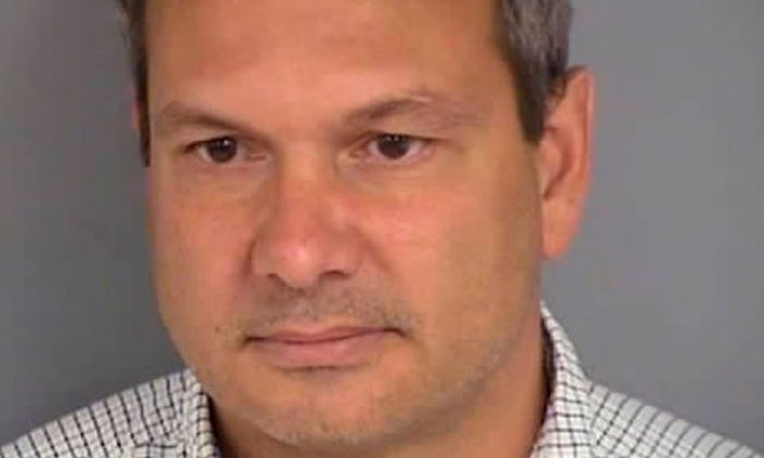 Michael Stark, an operative for the liberal super PAC American Bridge 21st Century, was arrested for allegedly assaulting a female Republican campaign manager in Las Vegas, Nevada on Oct. 16, 2018. (Las Vegas Department of Public Safety)