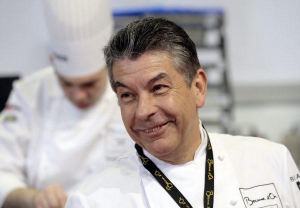 Three star French chef Régis Marcon.