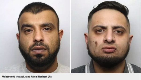 grooming gang convicts Left: Mohammed Irfraz, (Faj). Right: Faisal Nadeem (Chiller).