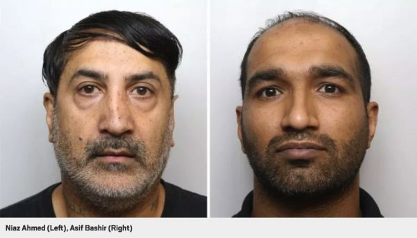 grooming gang Left: Niaz Ahmed (Shaq). Right: Asif Bashir (Junior).