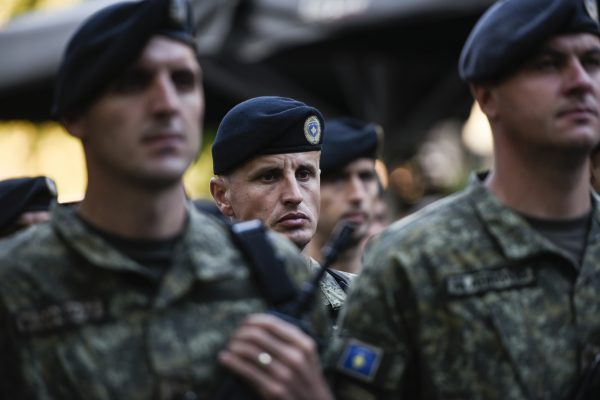 Kosovo Security Force peacekeeping mission