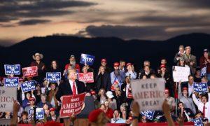 In Photos: Trump Rally in Missoula, Montana