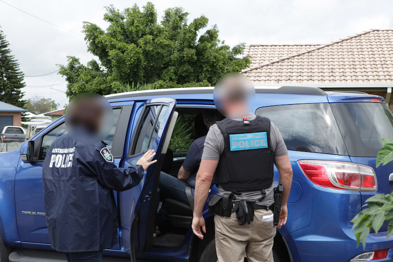 Child Abduction Members Being Arrested by Police in Australia