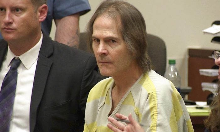 This image made from video shows Scott Ostrem in court in Brighton, Colo., on Oct. 19. 2018. (KMGH-TV via AP, Pool)
