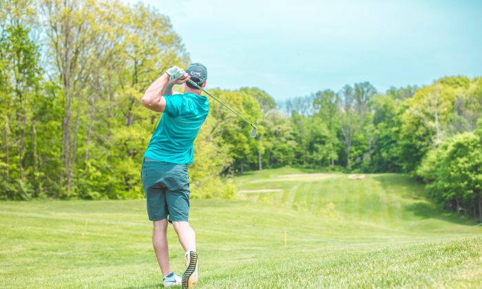 Golf is primarily played by middle-aged white men, but has health benefits anyone could appreciate. (Court Prather/Unsplash)