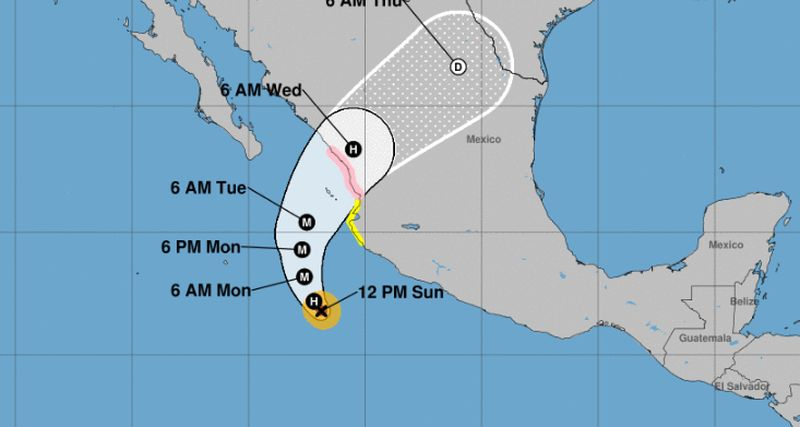 hurricane willa will slam bam mexico wednesday