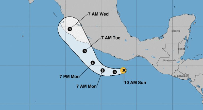 tropical storm vicente to hit mexico soon
