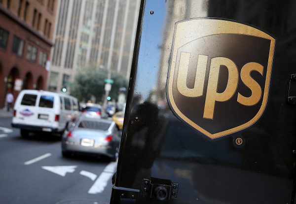 United Parcel Service delivery truck