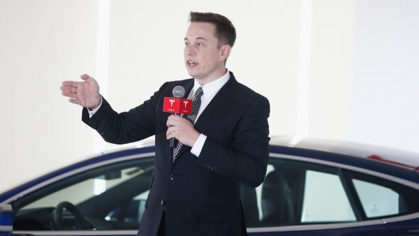 Elon Musk Chairman Tesla Motors