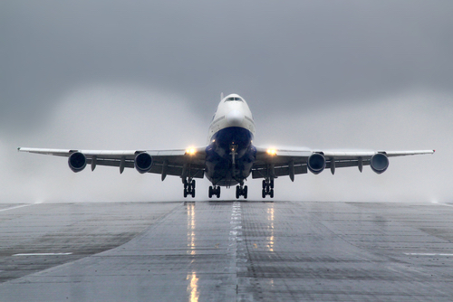 """The Boeing 747 was the first wide-body """"jumbo jet"""" ever built, involving about 50,000 construction workers, mechanics, and engineers. (Shutterstock)"""
