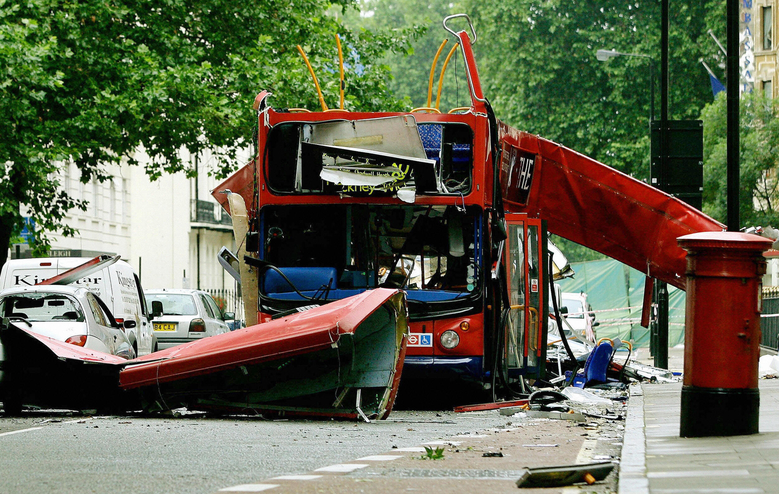 bus bombed in London 7/7