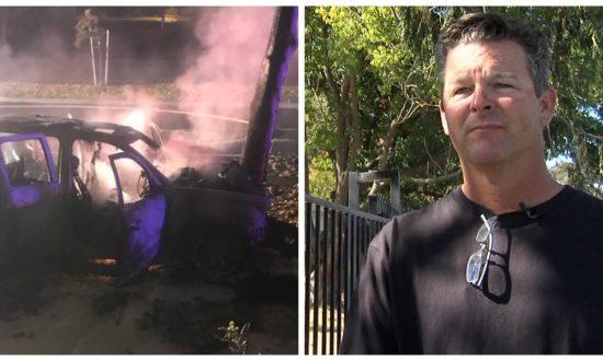 California Man Saves 3 People From Burning Car