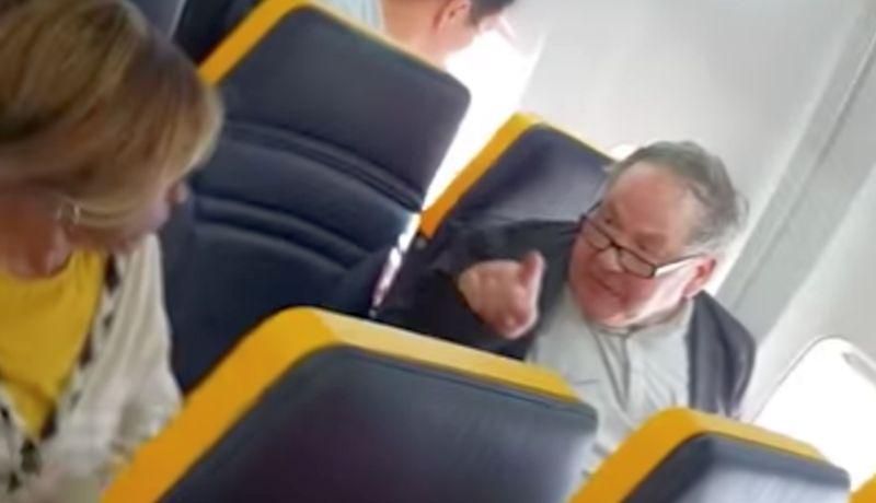 ryanair slammed for ignoring passenger