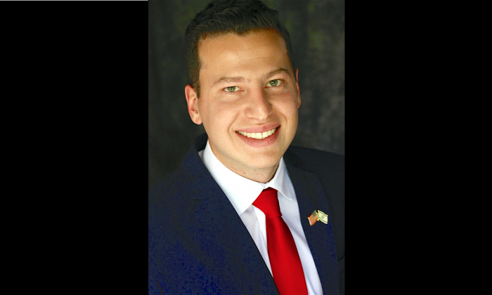 Joshua Scott, 25, is running for Congress as Republican in the 32nd District in California. (Courtesy Joshua Scott)