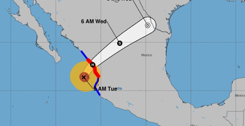 hurricane willa core hitting mex