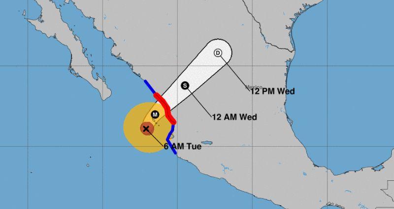 hurricane willa slated to slam mexico