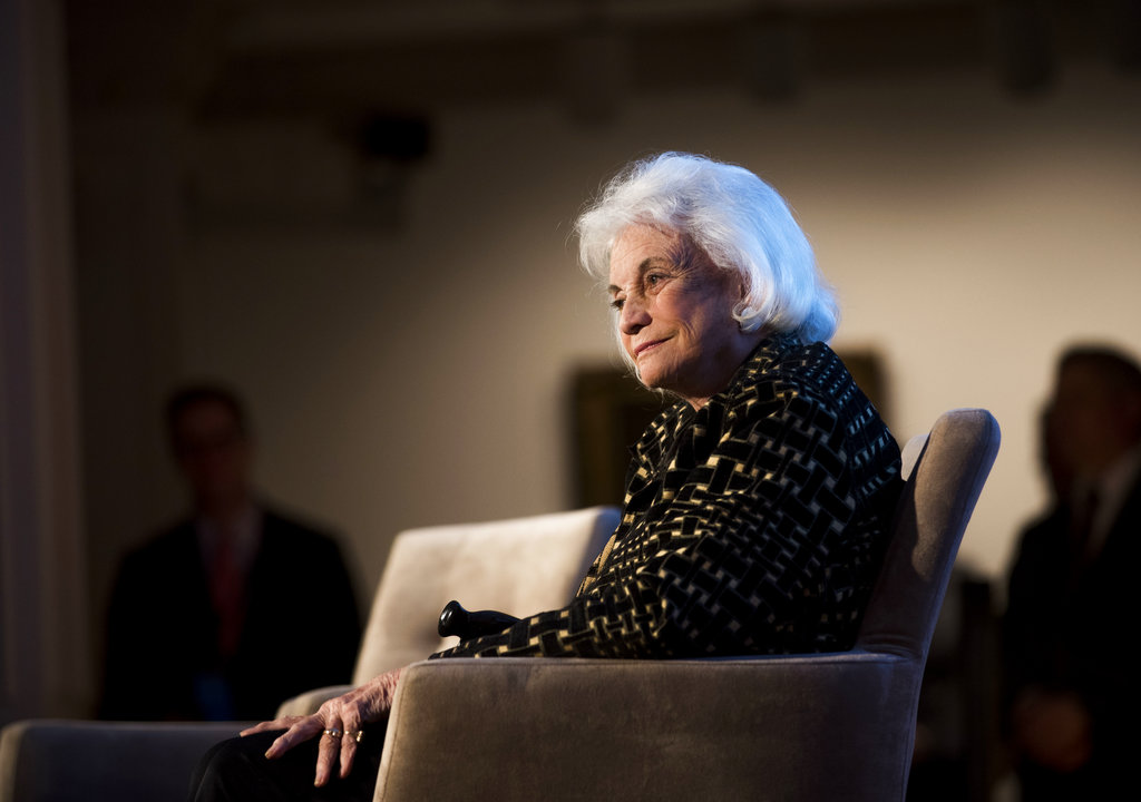 Sandra Day O'Connor has early dementia