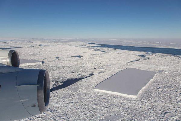 a rectangular iceberg