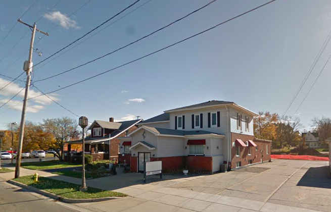 Two fetuses, decades-old, were discovered at former Mowen Funeral Home in Owosso, some 90 miles northwest of Detroit, in Michigan on Oct. 22, 2018. This is the third finding of fetal remains hidden in funeral homes in Michigan in under two weeks. (Screenshot/Google Maps)
