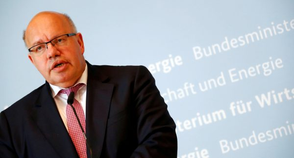 German Economic Affairs and Energy Federal Minister Peter Altmaier
