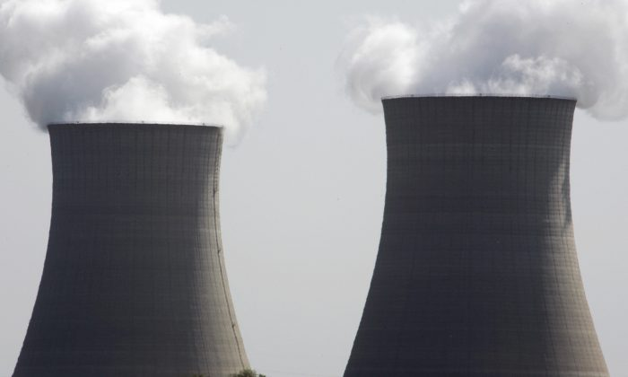 The Exelon Byron Nuclear Generating Stations in Byron, Illinois, in this file photo. Developed countries like the United States have low pollution levels overall, the real polluters are the developing countries. (JEFF HAYNES/AFP/Getty Images)
