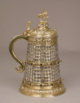 tankard of gilded silver