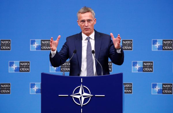 NATO secretary general speaks