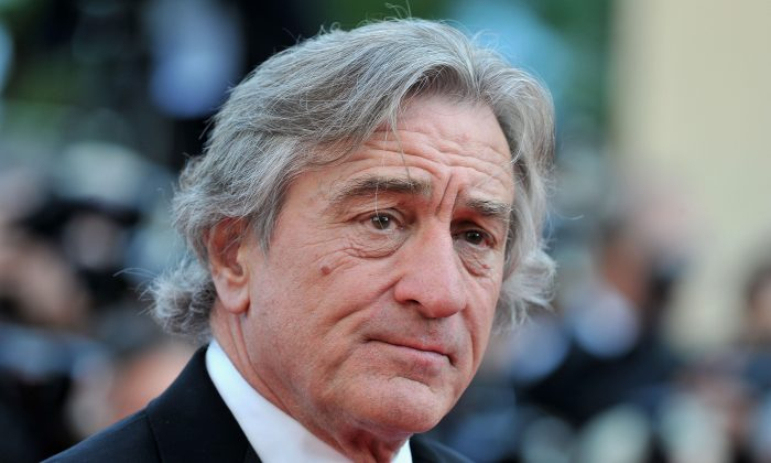 Actor Robert De Niro at the Cannes Film Festival on May 18, 2012 in France. (Pascal Le Segretain/Getty Images)