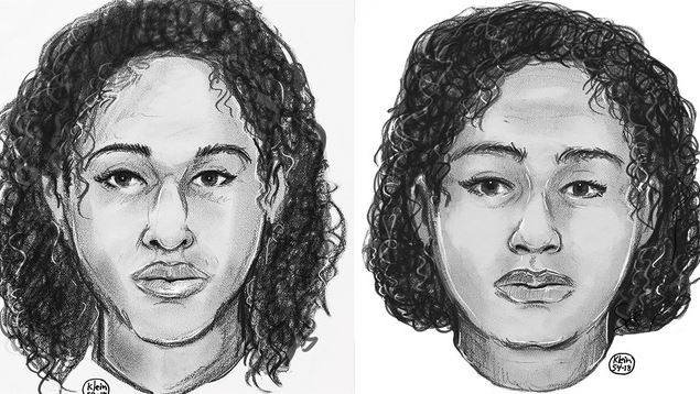 sketches of women found bound with duct tape