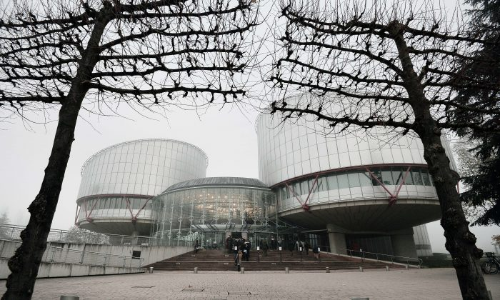 The European Court of Human Rights in Strasbourg, France, in this file photo. (Frederick Florin/AFP/Getty Images)