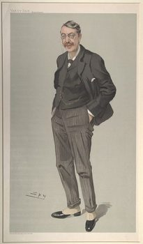caricature of Charles_Villiers Sta