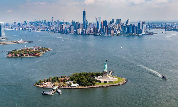 Ellis Island and Liberty Island. (Shutterstock)