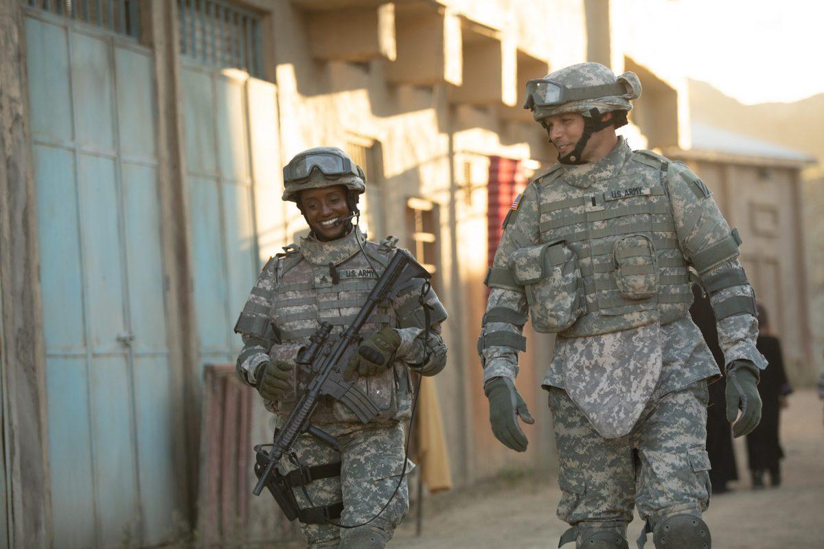 Soldier Shonda Peterson and Chaplain Darren Turner