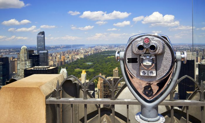 View of Upper Manhattan from Rockefeller Center. (Shutterstock)