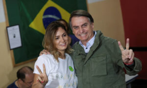 Wife of Brazil's Bolsonaro, 2 Daughters, Test Negative for COVID-19