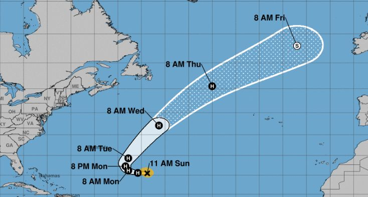 tropical storm oscar forms in the atlantic