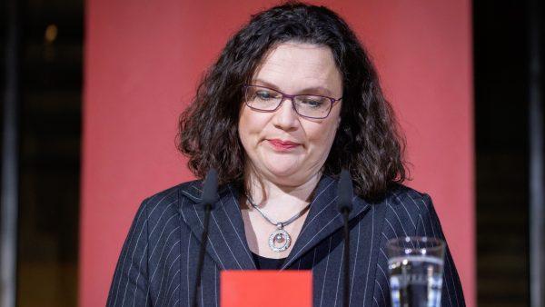 Andrea Nahles chairwoman SPD