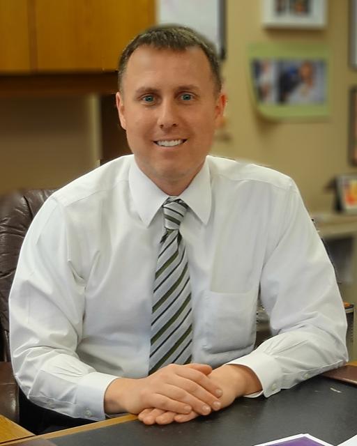 Michael Devoll, Principal of Old Rochester Regional High School in Mattapoisett, MA.