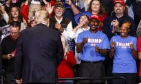 Trump Approval Among Black Voters Rises to Record 40 Percent in Rasmussen Poll