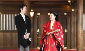 Princess Ayako of Japan Marries Commoner in Tokyo Ceremony