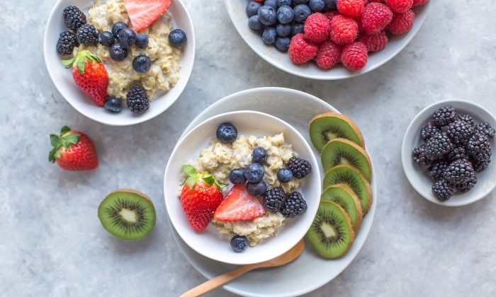 Eating whole foods, like oatmeal with fruit, is a great way to get your daily fiber. (Melissa Belanger/Unsplash)