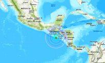6.1 Magnitude Earthquake Hits Off Coast of El Salvador