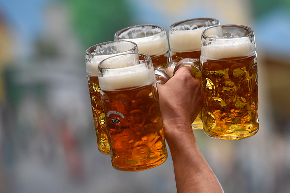 Oktoberfest-style beers, with their caramelly malt profiles, are, unsurprisingly, perfect for fall. (Philipp Guelland/Getty Images)
